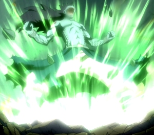 Gajeel_releasing_his_power