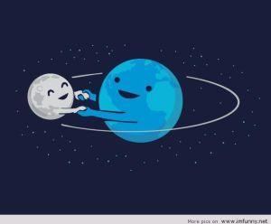 Happy-Earth-Moon